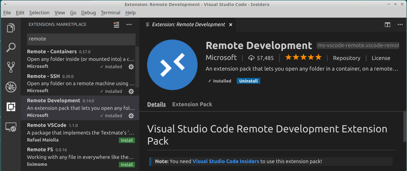 What is the new Visual Studio Code Remote feature and how to
